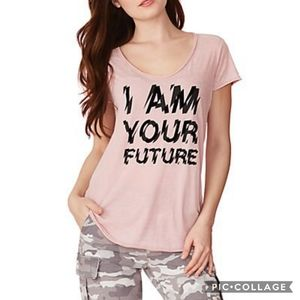William Rast I Am Your Future Graphic T-Shirt